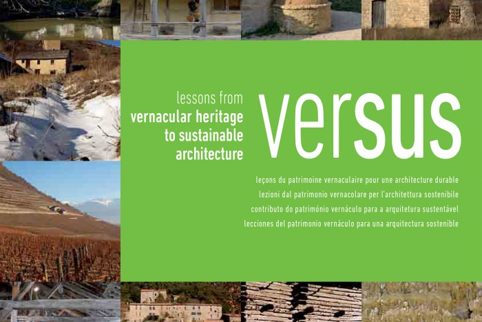 VerSus: Lessons from Vernacular Heritage to Sustainable Architecture