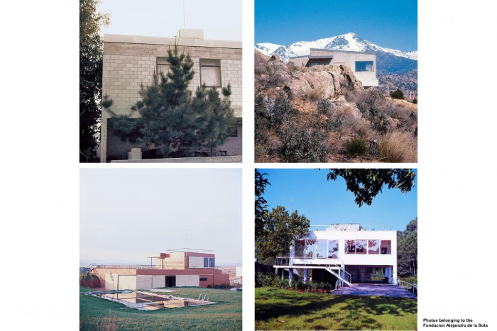 The conservation of the house as heritage, single-family houses of Alejandro de la Sota