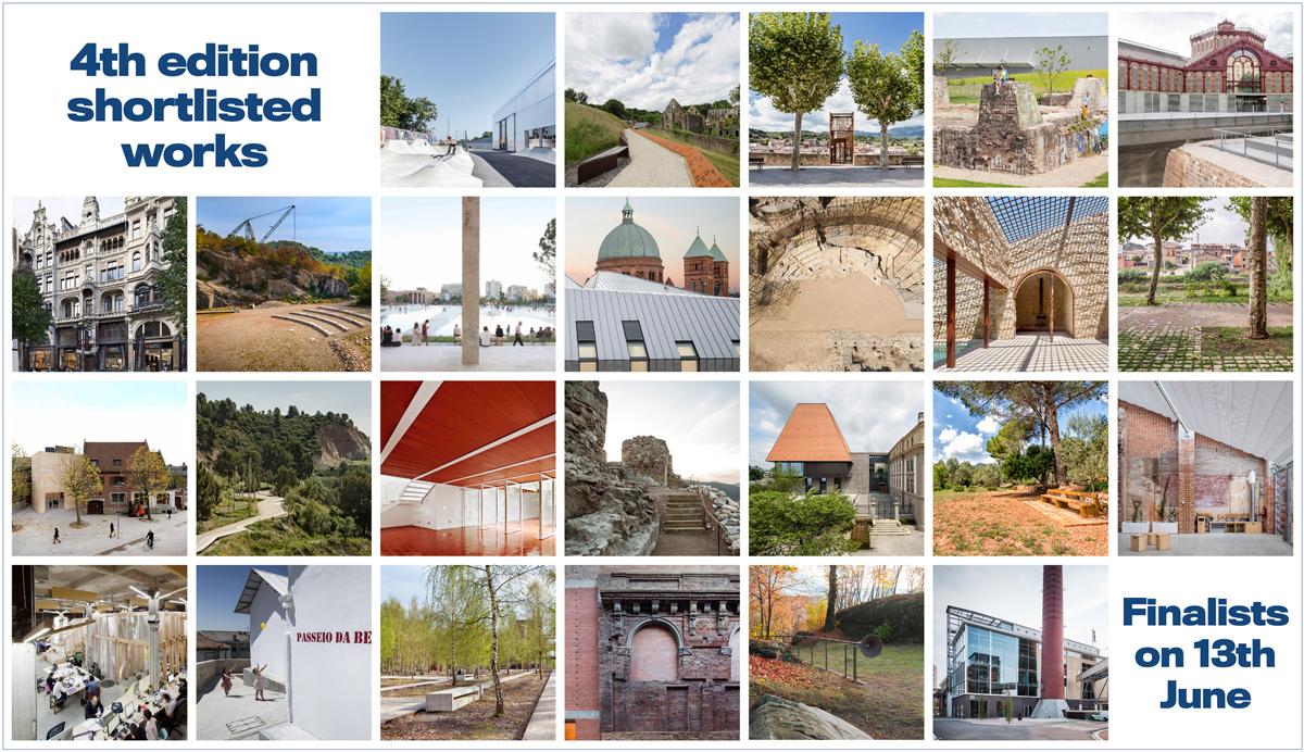 El Premi Europeu d'Intervenció en el Patrimoni Arquitectònic AADIPA fa públics els seleccionats de les categories A i B de la 4a edició del certamen