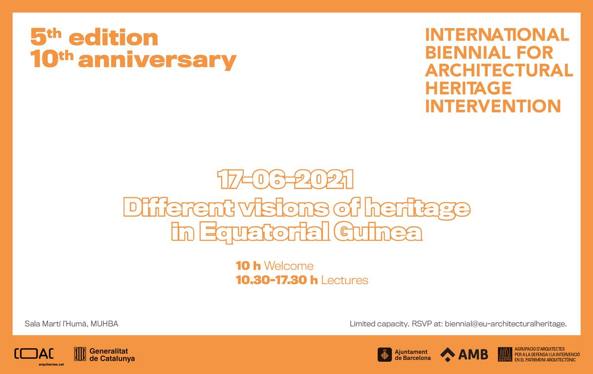 Guinea Equatorial, país convidat de la V edició de la Biennal Internacional d'Intervenció en el Patrimoni Arquitectònic