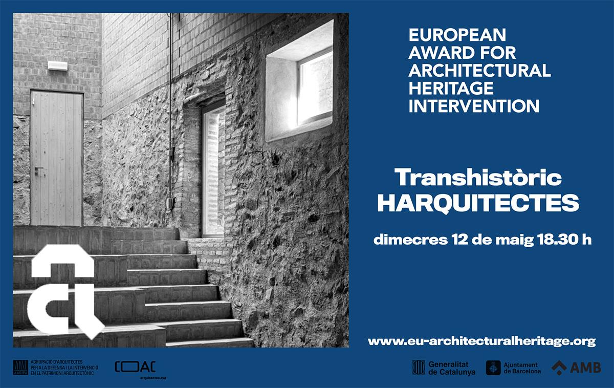 """HArquitectes, convidats del Premi a la Setmana d'Arquitectura 2021, amb la conferència """"Transhistòric"""""""