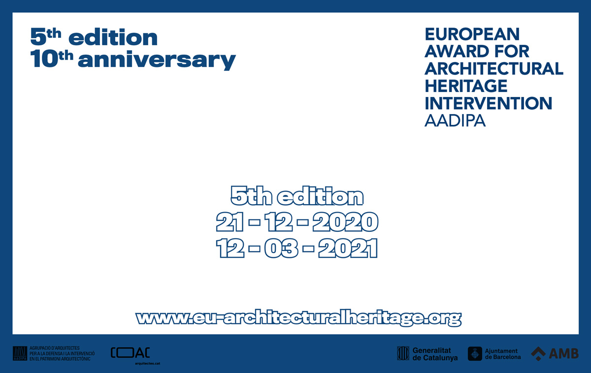 5th edition of the Award. Registration open