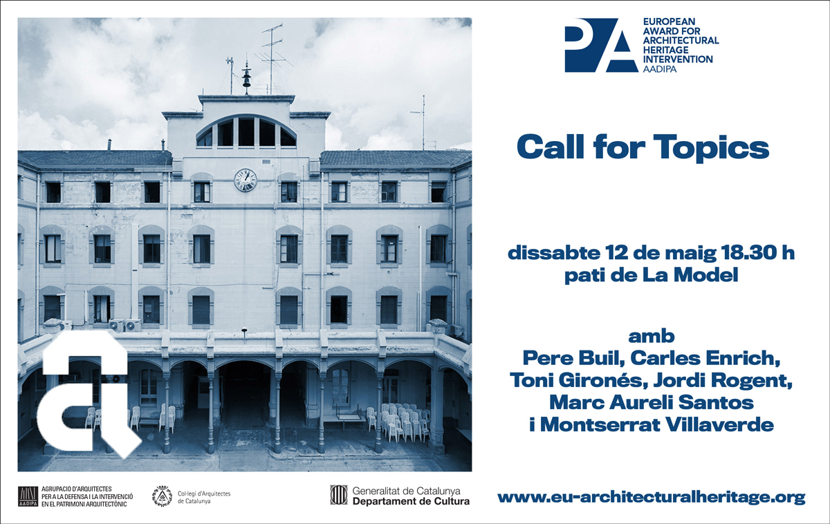 """Call for topics."" The Award at the Setmana d'Arquitectura"