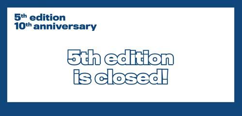 5a edició del Premi, tot un èxit que coincideix amb la celebració del seu desè aniversari